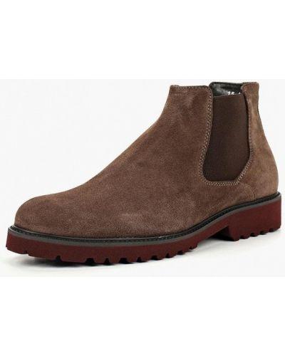 Ботинки челси осенние замшевые Domeno