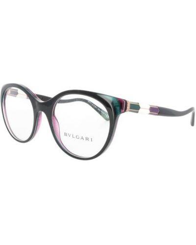 Czarne okulary Bvlgari