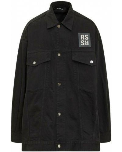 Czarne jeansy Raf Simons