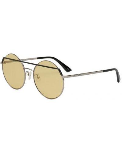 Солнцезащитные очки круглые Mcq