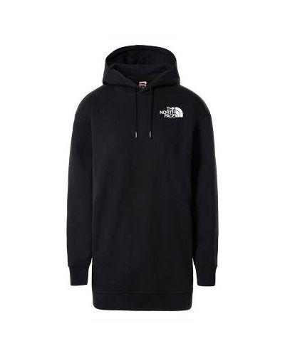 Bluza oversize z kapturem - czarna The North Face