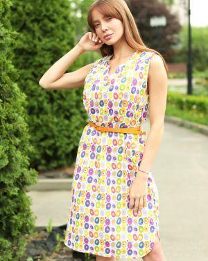Летнее платье с поясом платье-сарафан Lika Dress