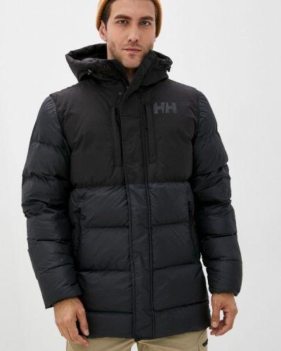 Черная теплая куртка Helly Hansen
