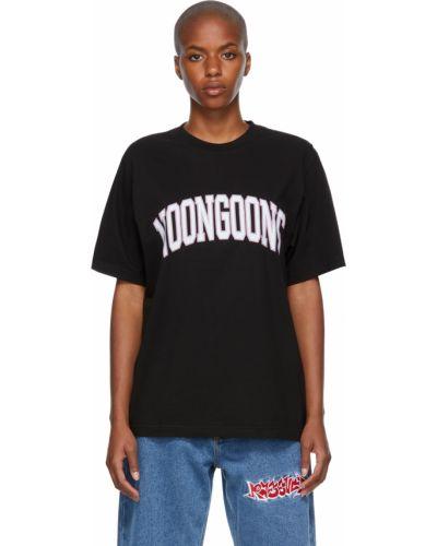 Czarna t-shirt krótki rękaw Noon Goons