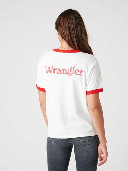 Футболка - белая Wrangler