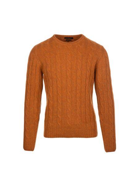 Sweter - pomarańczowy Daniele Fiesoli
