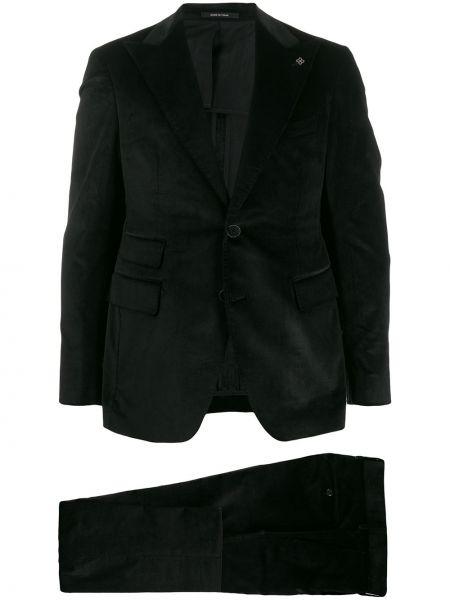 Garnitur kostium czarny Tagliatore