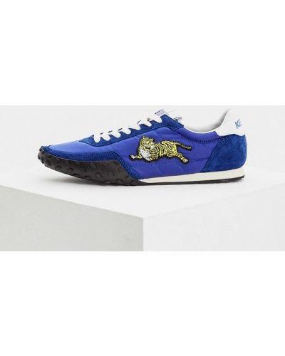 Синие кроссовки Kenzo
