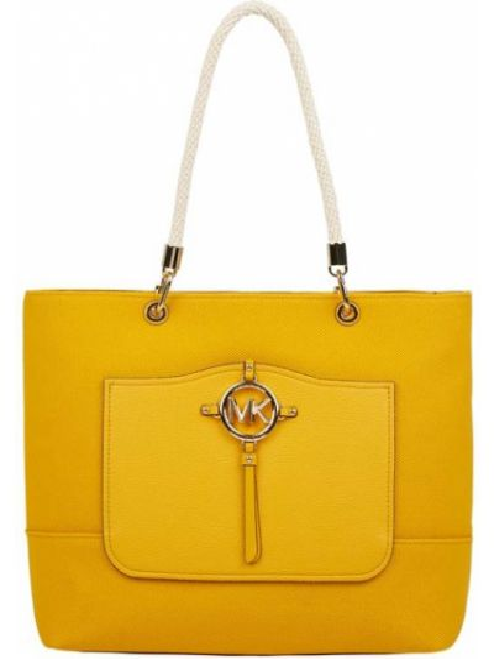 Żółta torebka Michael Michael Kors