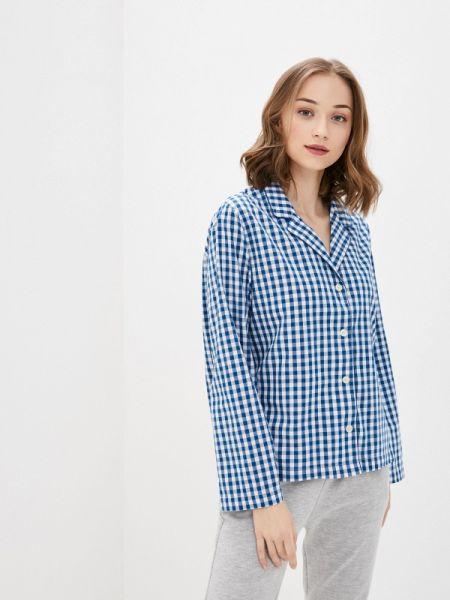 Домашняя синяя рубашка Gap
