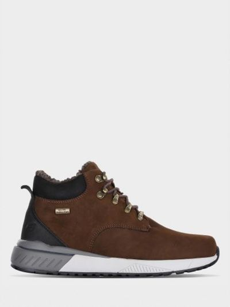 Кожаные ботинки - коричневые Skechers