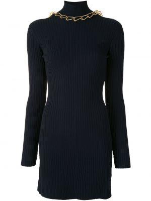 Платье макси с длинными рукавами - синее Dion Lee
