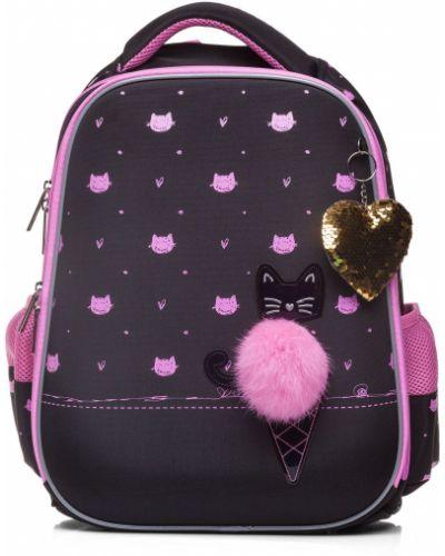 Школьный розовый ранец Hatber
