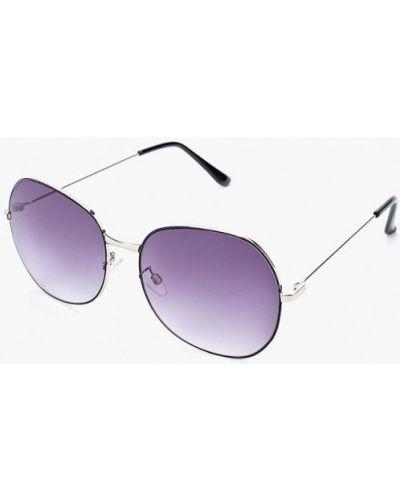 Солнцезащитные очки серебряного цвета Modis