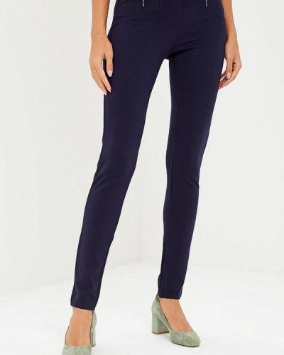 Синие брюки повседневные Vis-a-vis