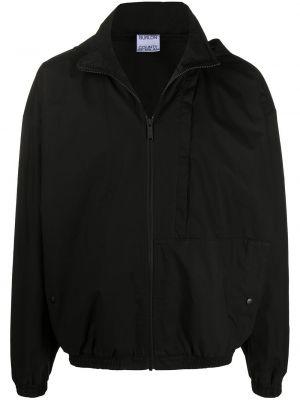 Czarna kurtka bawełniana Marcelo Burlon County Of Milan
