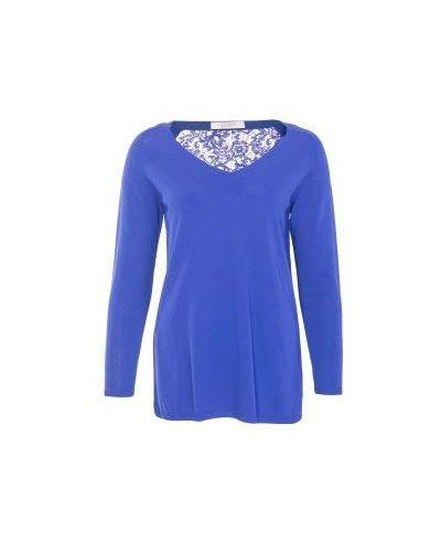 Блузка синяя D.exterior