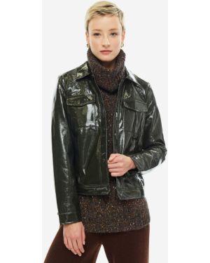 Куртка черная с карманами Ichi