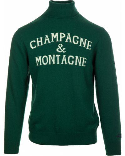 Zielony sweter Mc2 Saint Barth