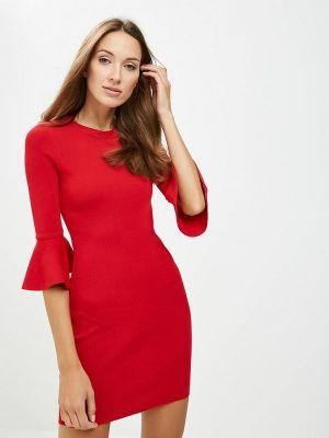 Платье осеннее красный You&you