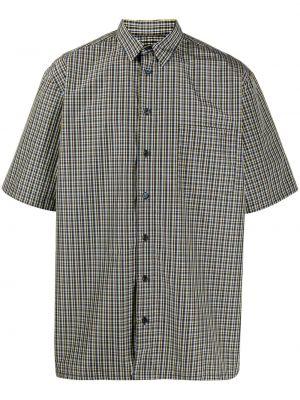 Koszula krótkie z krótkim rękawem klasyczna niebieski Raf Simons