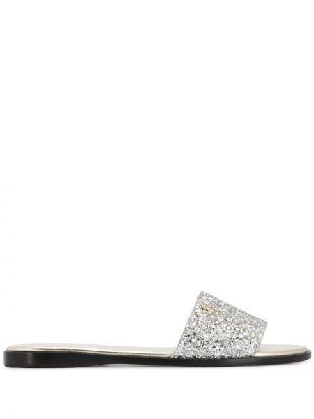 Sandały skórzane Jimmy Choo