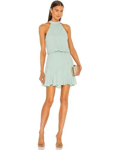 Расклешенное свободное платье мини с подкладкой Krisa