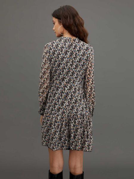 Платье макси с воротником на пуговицах Defacto