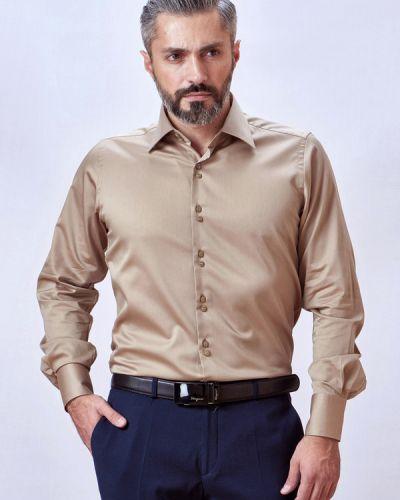 954afe04a7a Рубашка с длинным рукавом с карманами хлопковая Mario Machardi