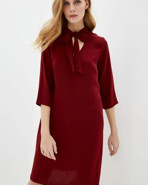 Платье бордовый прямое Gerry Weber