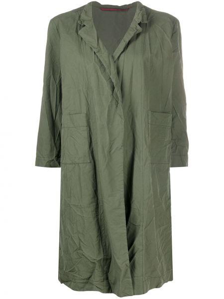 С рукавами зеленая свободная куртка свободного кроя Daniela Gregis