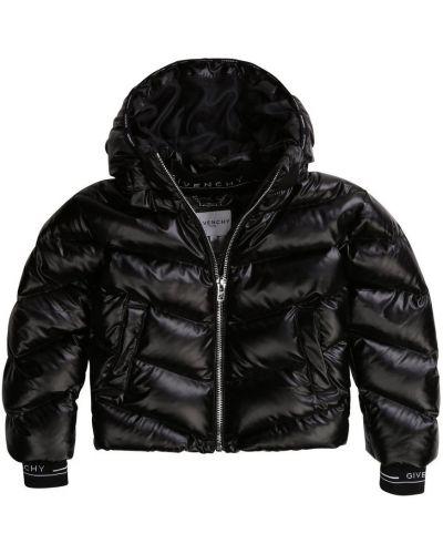 Prążkowana kurtka puchowa elegancka Givenchy