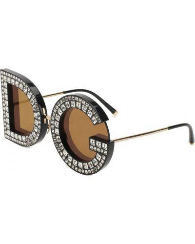 Солнцезащитные очки пластиковые тонкий Dolce & Gabbana