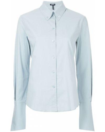 Классическая рубашка хлопковая приталенная Jil Sander Navy