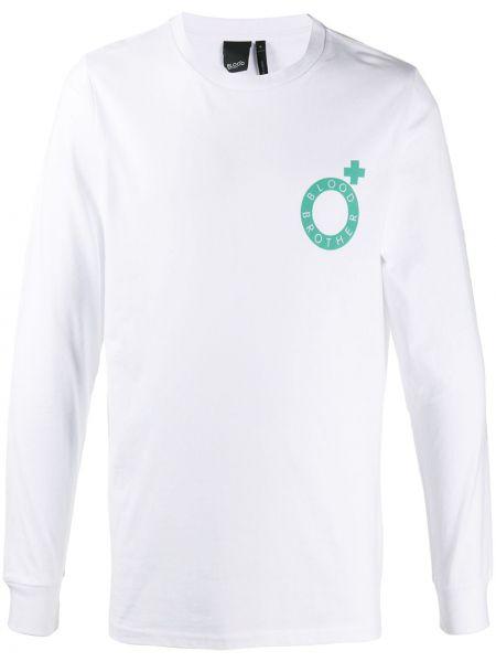 Koszula z długim rękawem z logo prosto Blood Brother