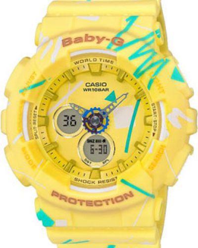 Кварцевые часы водонепроницаемые с подсветкой электронные Casio