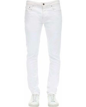 Niebieskie jeansy z paskiem Htc Los Angeles