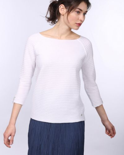 Пуловер белый Monari