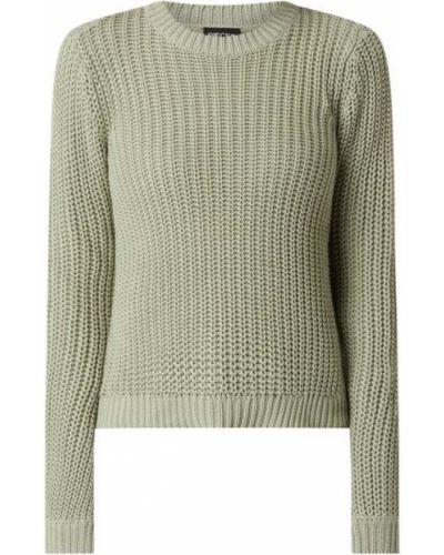 Zielony sweter bawełniany Pieces