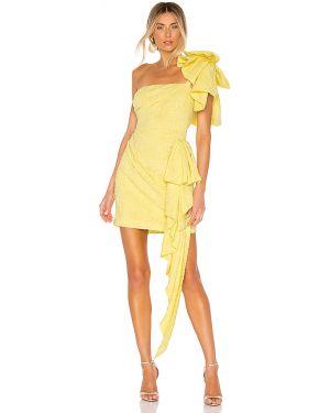 Sukienka z falbankami z suwakiem Atoir