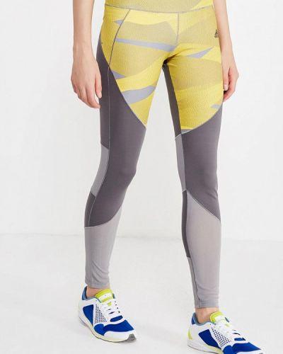 Серые леггинсы Adidas