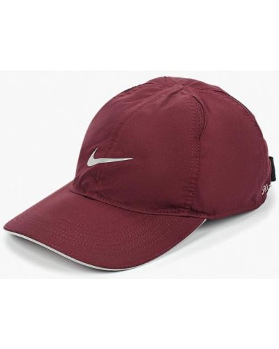 Бейсболка красная бордовый Nike