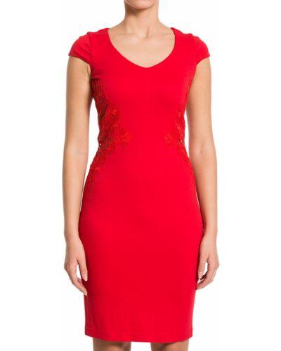 Платье из вискозы - красное Scervino Street