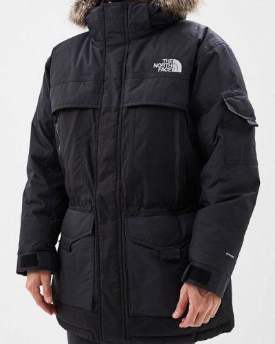 Зимняя куртка черная осенняя The North Face