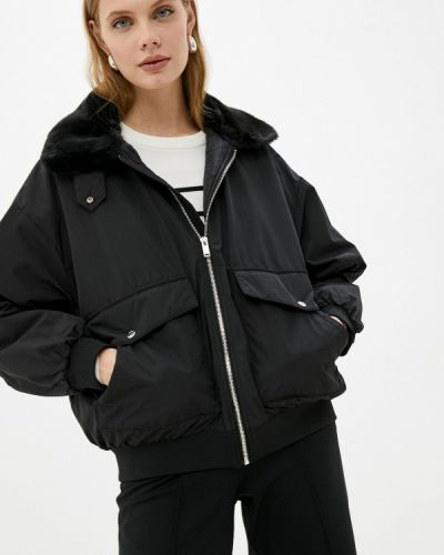 Черная зимняя куртка Ostin