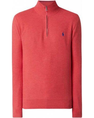 Bluza z kołnierzem - różowa Polo Ralph Lauren