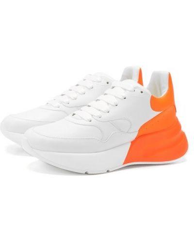 Кожаные кроссовки 2019 городские Alexander Mcqueen