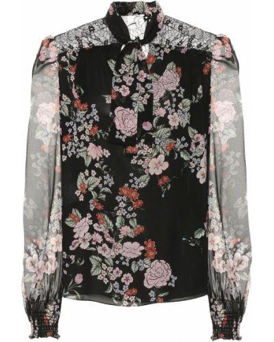 Блузка батник с цветочным принтом Giambattista Valli