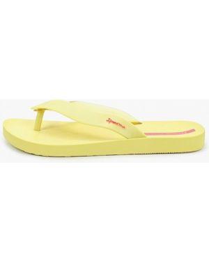Сланцы пляжные желтый Ipanema
