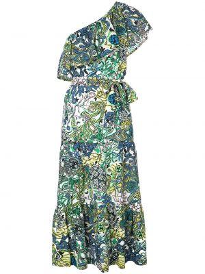 Платье миди с абстрактным принтом расклешенное Alc
